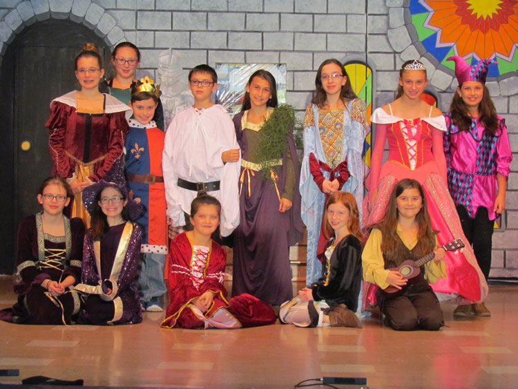 Cast of Once Upon A Mattress